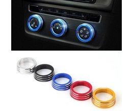 Gekleurde Ringen voor Autoknoppen Golf 7