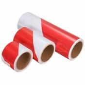 Reflecterende Tape Rood Wit