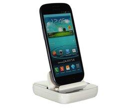 Micro USB oplaadstation voor Samsung Galaxy Note 2