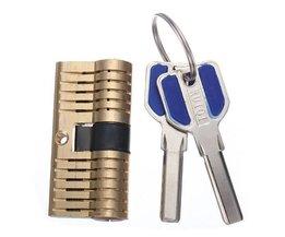 Dubbel Cilinderslot Voor Lockpickers