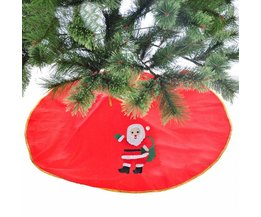 Kerstboomrok in Rood