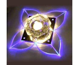 Plafondlamp In de Vorm van een Bloem