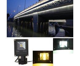 10W LED Schijnwerper Met Infrarood Sensor