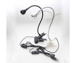 USB Spot met LED Licht en Klem
