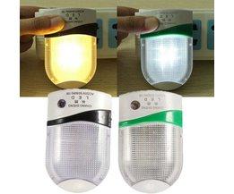 LED Stekkerlampje met Sensor