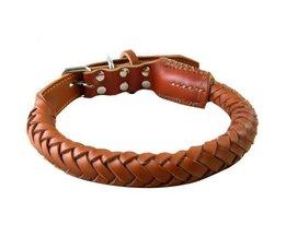 Lederen Hondenhalsband
