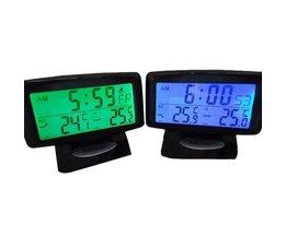 Digitale auto thermometer in verschillende kleuren