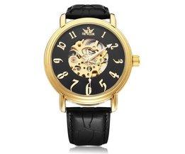 SEWOR Big Dial Horloge PU Leer