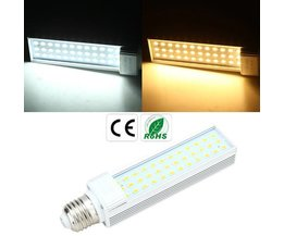 Witte LED in 2 Tinten met E27 Fitting