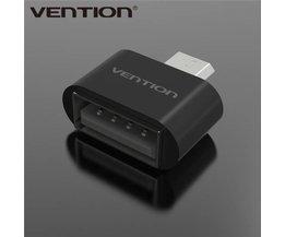Vention USB  naar Micro USB Adapter