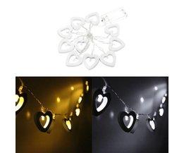 LED Snoer Met Hartjes In Twee Kleuren