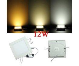 Vierkante Plafonniere Dimbare LED