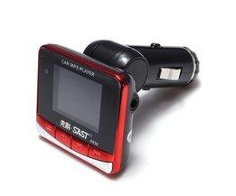 Auto MP3 Speler FM Transmitter 4GB