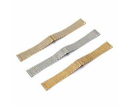Horlogeband 18mm van Roestvrij Staal