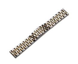 Horlogeband van Roestvrij Staal (22mm)