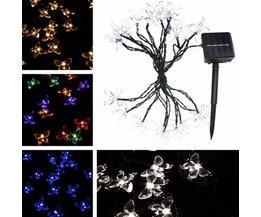 4.8M LED Vlinder Lichtsnoer In Meerdere Kleuren