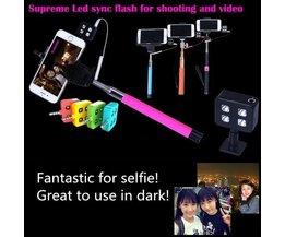 Camera LED Lamp voor Selfiestick