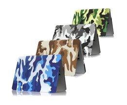 Camouflage Cover voor de Macbook 15.4 inch Retina