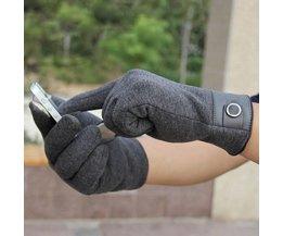 Touch Screen Handschoen voor Mannen