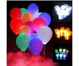 LED Lampen Voor Ballonnen 10 Stuks