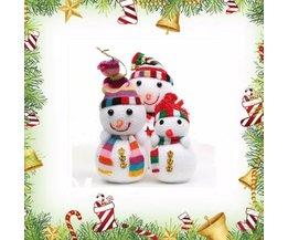Sneeuwpop voor Kerstboom