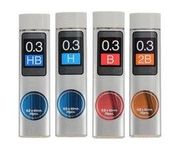 Refill Lead 0,3mm voor Vulpotlood 15 Stuks