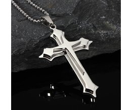 Cross Ketting RVS