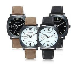 Mooi Modern Horloge voor Heren