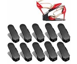 Schoenen Houder Verstelbaar Plastic Set 10 Stuks