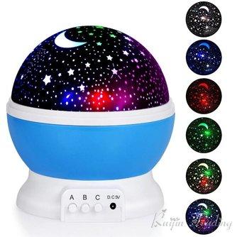 Nachtlampje baby projector
