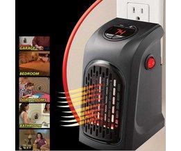 Alloet 400 w Elektrische Kachel Mini Ventilator Kachel Desktop Huishouden Muur Handige Verwarming Kachel Radiator Warmer Machine voor Winter