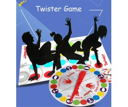 Grappige Twister Game Board Game Die Banden U Up In Knopen voor Familie Vriend Party Fun Twister Game Voor Kids Fun Board Games