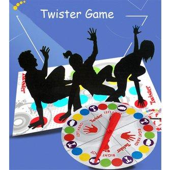 Grappige Twister Game Board Game Die Banden U Up In Knopen voor Familie Vriend Party Fun Twister Game Voor Kids Fun Board Games