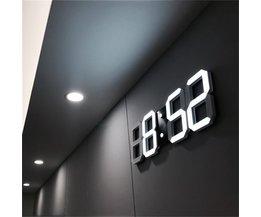 Moderne Digitale Wekker / Tafelklok / Wandklok