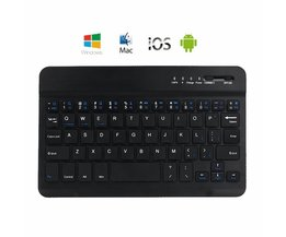 Draadloze Bluetooth Keyboard Smartphone / Laptop