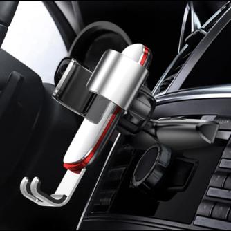 Baseus Gravity Auto Telefoon Houder voor Auto CD Slot Mount Telefoon Houder Stand voor iPhone X Samsung S10 Metalen Mobiele mobiele Telefoon Houder