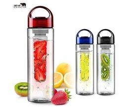 Beer Cavalier700 ml Buitensporten Fles Citroen Fruit Zetgroep Squeeze Water Fles Sport Citroensap Maker Plastic Fles