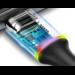 Baseus USB Type C Kabel Voor Samsung Xiao mi rode Mi note 7 Mi 9 t snelle oplaadsnoer USB-C oplader Mobiele Telefoon USBC Type-c Kabel 2 m
