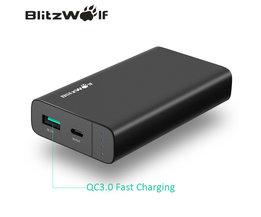 Blitzwolf Powerbank voor iPhone 10000 mAh