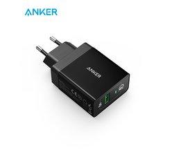 Anker USB Charger met Snellaad Functie