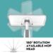 Magic Spray Mop Houten Vloer met Herbruikbare Microfiber Pads 360 Graden Handvat Huis Ramen Keuken Mop Veegmachine Bezem Schoon Gereedschap