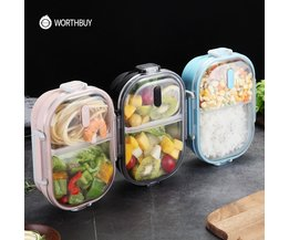 Luxe Draagbare RVS Lunchbox