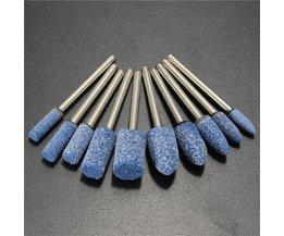 Cilinder Slijp Accessoire Voor Dremel 10 Stuks