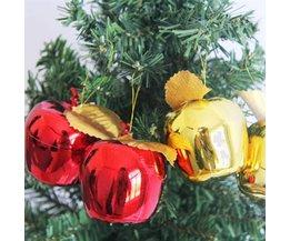 Kerst Appel Hangers 12 Stuks