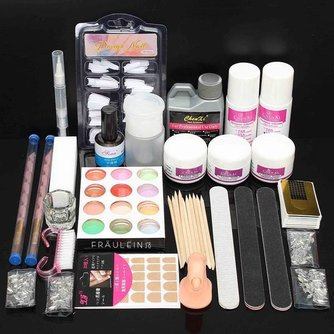 Uitgebreide Nailart Manicure Kit