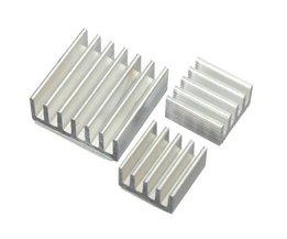 Aluminium Koeling Kit voor Raspberry Pi (3 stuks)