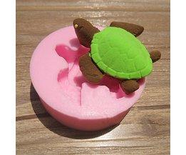 Schildpad Mal van Siliconen