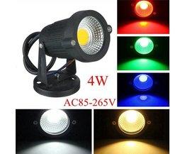LED-verlichting voor buiten in verschillende kleuren