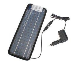 Zonnepaneel Voor Accu Van De Auto