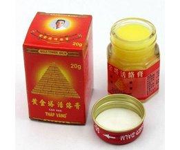 Chinese Zalf: Gold Tower Balm (5 Stuks)
